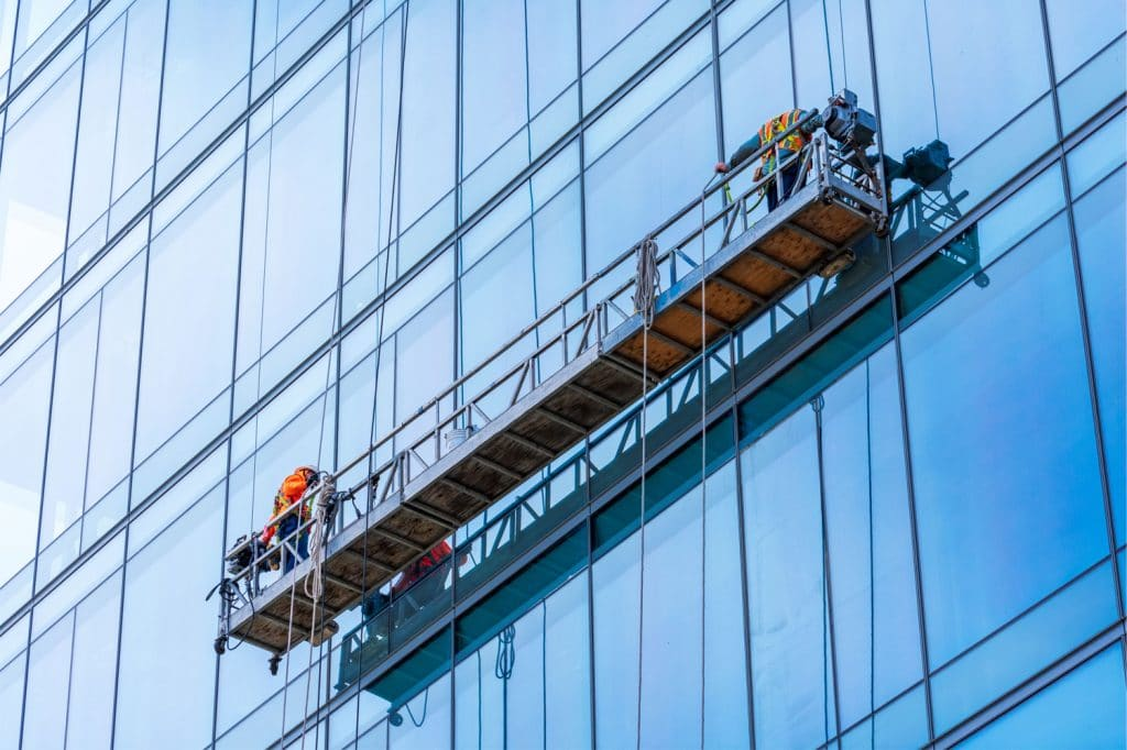 Window Cleaning Cradle Access